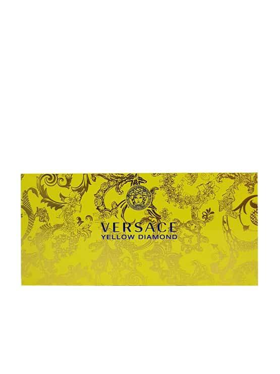 Yellow Diamond Miniature Gift Set for Women (edT 5ml + Perfumed Shower Gel 25ml + Perfumed Body Lotion 25ml) by Versace