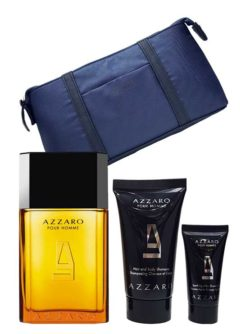 Azzaro pour Homme Exclusive Travel Set for Men (edT 100ml + Natural Spray Deodorant 150ml) by Azzaro