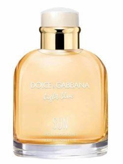 Light Blue Sun pour Homme for Men, edT 125ml by Dolce & Gabbana