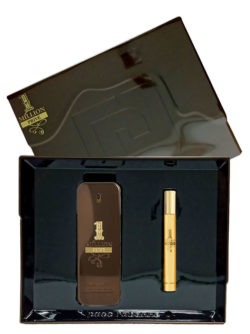 1 Million Prive Gift Set for Men (edP 100ml + Travel Spray 10ml) by Paco Rabanne