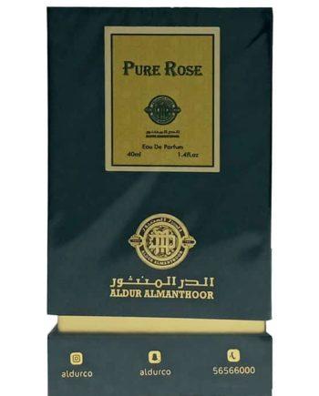 Pure Rose for Men and Women (Unisex), edp 40ml by AlDur AlManthoor