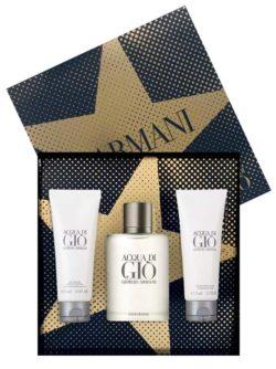 Acqua Di Gio Gift Set for Men (edT 100ml + All Over Body Shampoo 75ml + After Shave Balm 75ml) by Giorgio Armani