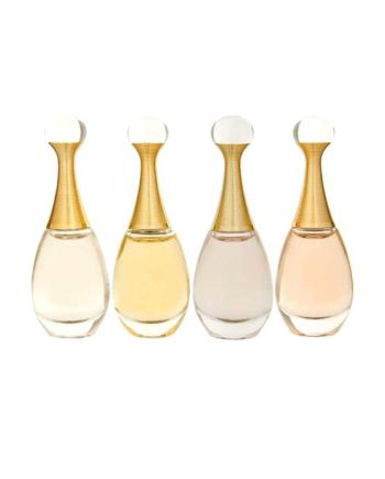 J'adore Miniature Collection for Women (L'Absolu edP 5ml + J'adore edP 5ml + J'adore edT 5ml + J'adore in Joy edT 5ml) by Christian Dior