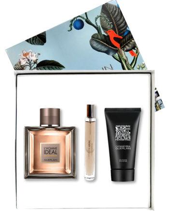 L Homme Ideal Gift Set for Men (edP 100ml + edP 10ml + Shower Gel 75ml) by Guerlain