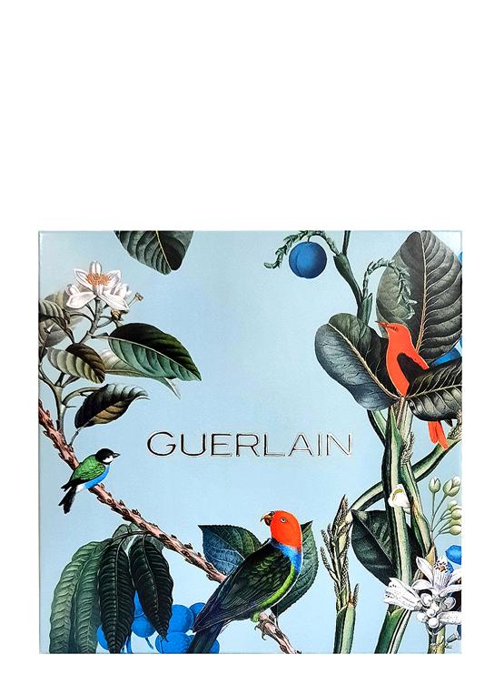 Habit Rouge Gift Set for Men (edT 100ml + edT 10ml + All-Over Shower Gel 75ml) by Guerlain