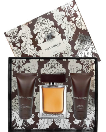 The One Gift Set for Men (edT 100ml + After Shave Balm 50ml + Shower Gel 50ml) by Dolce & Gabbana