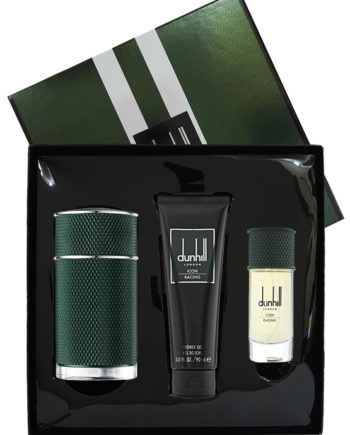 Icon Racing Gift Set for Men (edP 100ml + edP 30ml + Shower Gel 90ml) by Dunhill