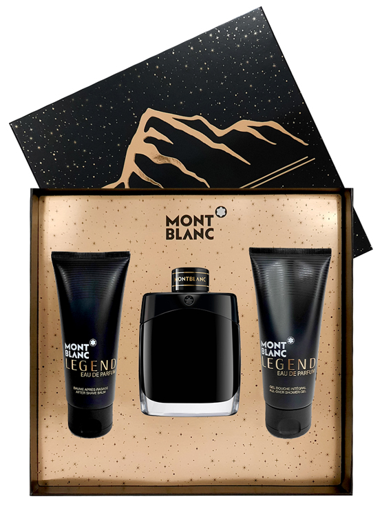 Legend Gift Set for Men (edP 100ml + After Shave Balm 100ml + All Over Shower Gel 100ml) by Mont Blanc